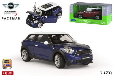 coche metal 1:24-27 mini paceman 2/s
