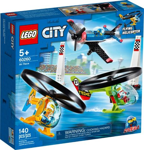 Carrera aerea lego city 60260