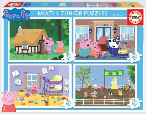 Multi 4 junior peppa pig 20-40-60-80